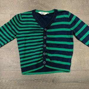 H&M Striped Cardigan